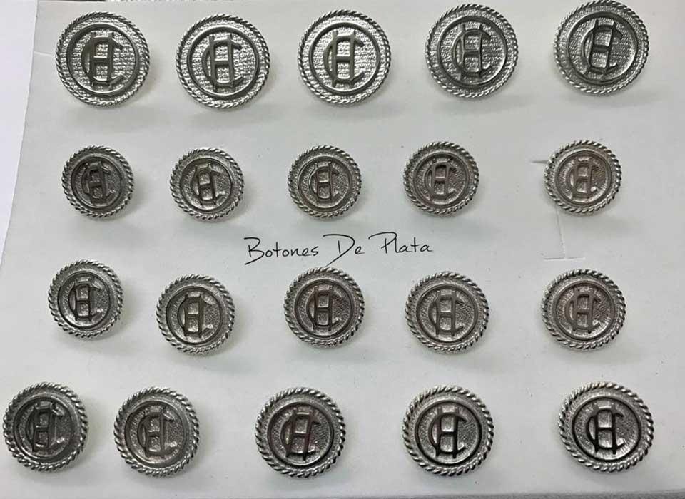 Botones de Plata-botonadura-cerco-salomonico-brillante-8