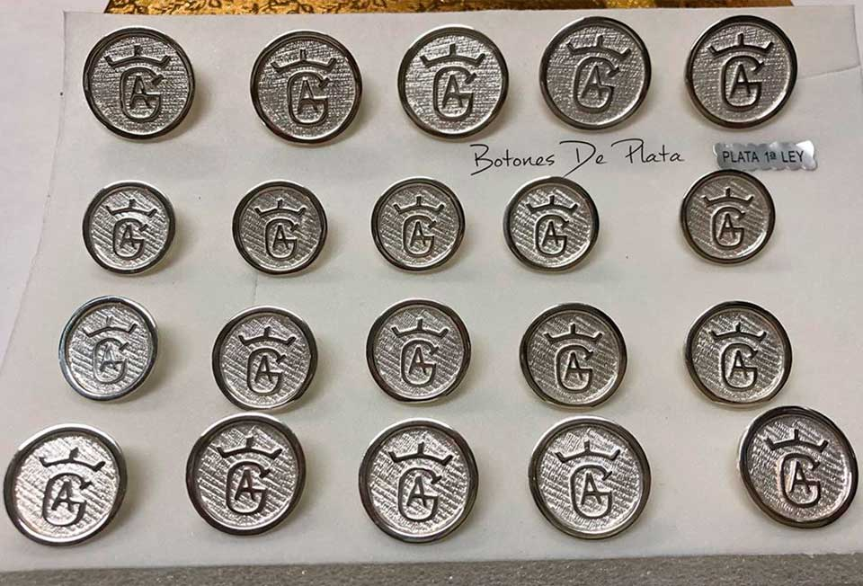 Botones de Plata-botonadura-cerco-liso--brillante-4