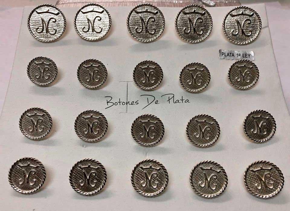 Botones de Plata-botonadura-cerco-salomonico-brillante-1