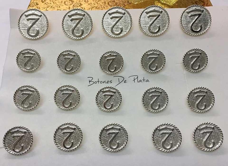 Botones de Plata-botonadura-cerco-salomonico-brillante-5