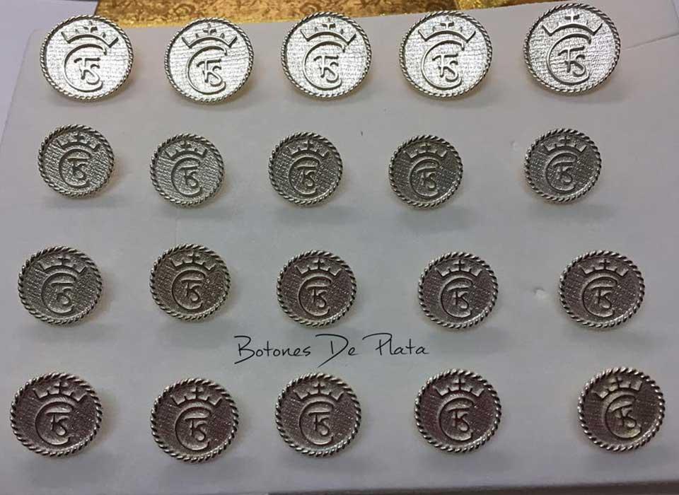 Botones de Plata-botonadura-cerco-salomonico-brillante-7