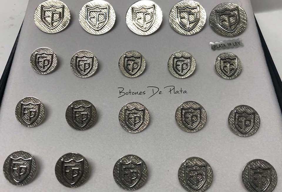 Botones de Plata-botonadura-sin-cerco-envejecido-234