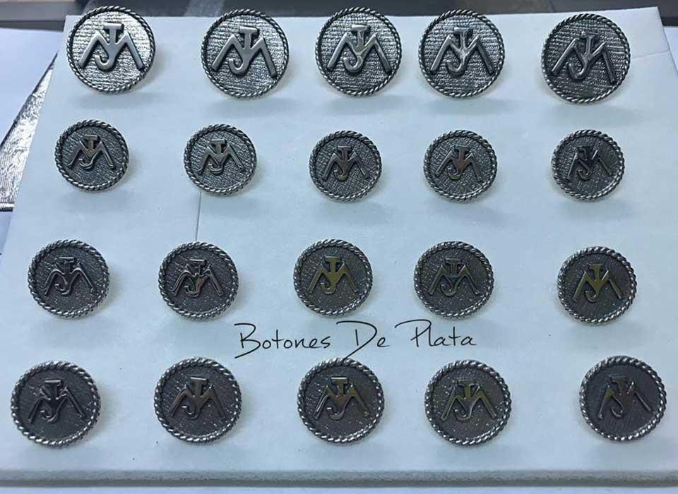 Botones de Plata-botones-salomonico-envejecido