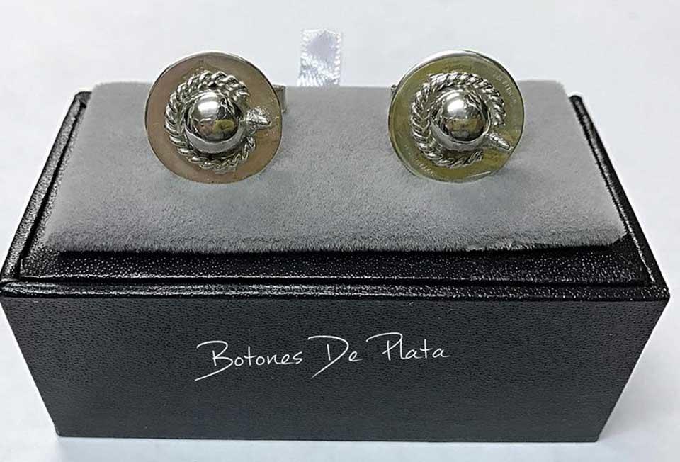 Botones de Plata-gemelos-castoreño