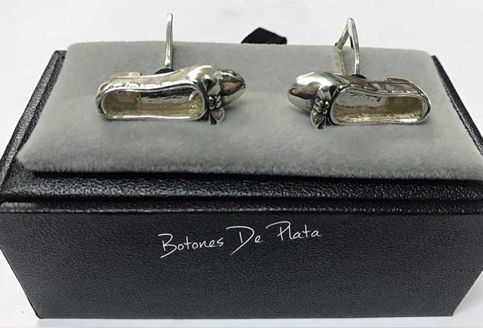 Botones de Plata-gemelos-manoletinas