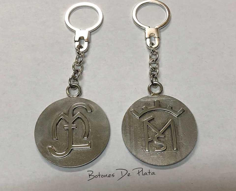 botones de plata-llaveros-sobre-base-sin-cerco-3