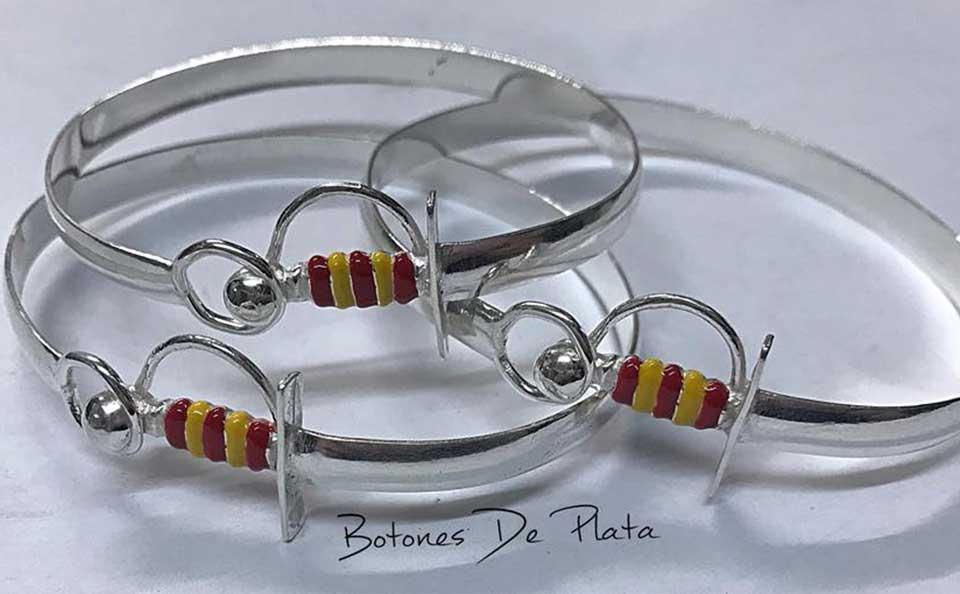botones de plata-pulseras-estoque-plata-a-color 4