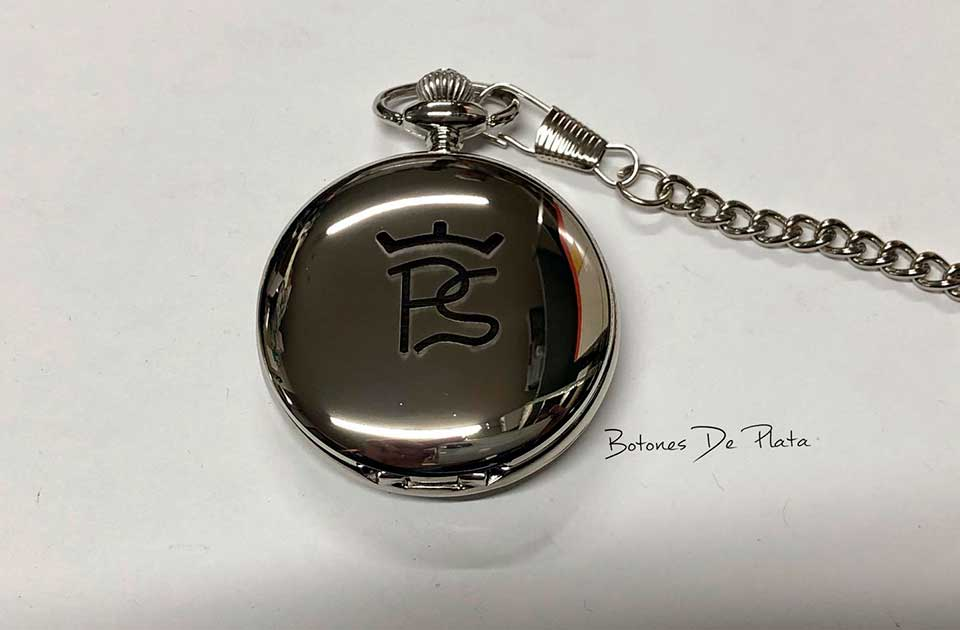 botones de plata-reloj-de-bolsillo-grabado